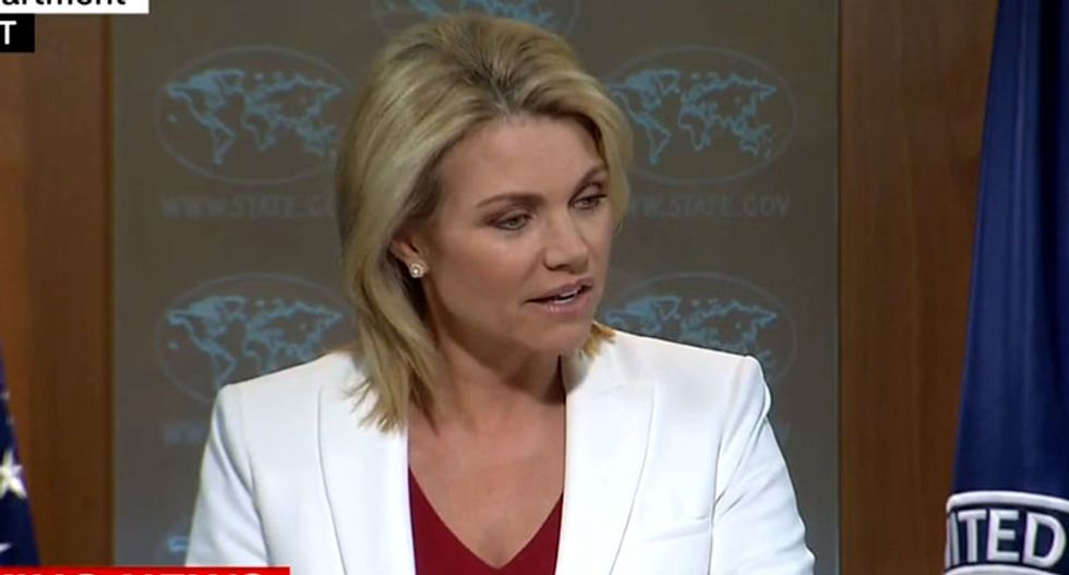 WATCH: Reporter hammers State Dept. spokeswoman after she accuses media of 'obsessing' about Korea nukes