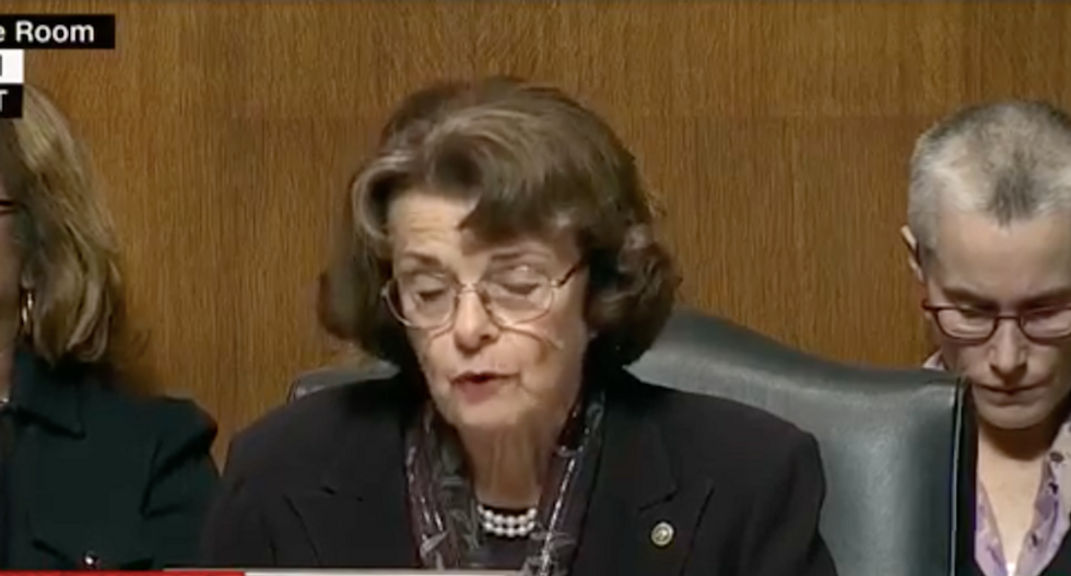 Dianne Feinstein unloads on judiciary Republicans for obstructing Kavanaugh investigation