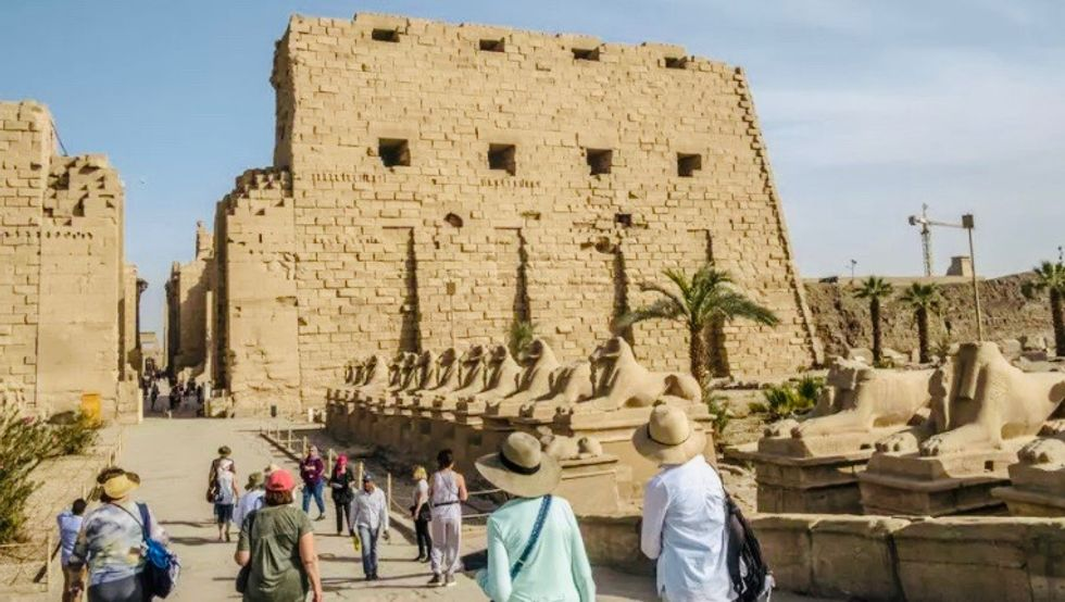 Transfer of sphinxes to Cairo square stirs controversy