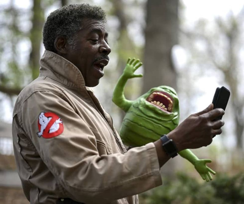 'Ghostbusters' actor Ernie Hudson records hopeful messages during pandemic