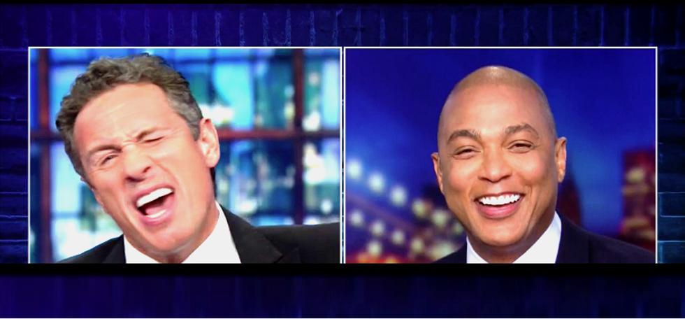 CNN's Chris Cuomo and Don Lemon hilariously mock Lindsey Graham: 'He has got the vapors!'