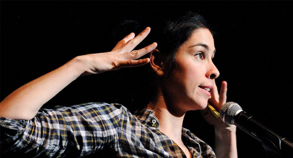 Sarah Silverman is obsessed with 'Handmaid's Tale' as a warning about where Trump is leading the US