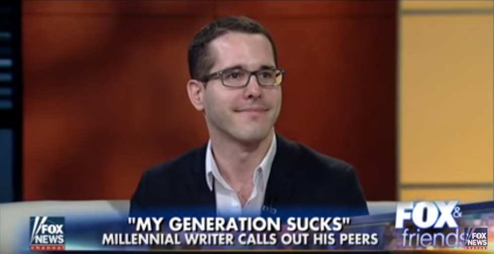 WATCH: Millennial goes on Fox News to assure aging viewers that young people are all horrible