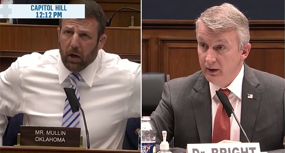 'Scum': GOP congressman faces angry backlash after grilling whistleblower Rick Bright about his blood pressure