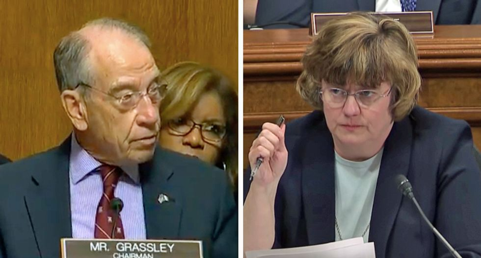 Rachel Mitchell spotted 'laughing and tossing back beers' with Grassley staff after Ford-Kavanaugh hearing: report