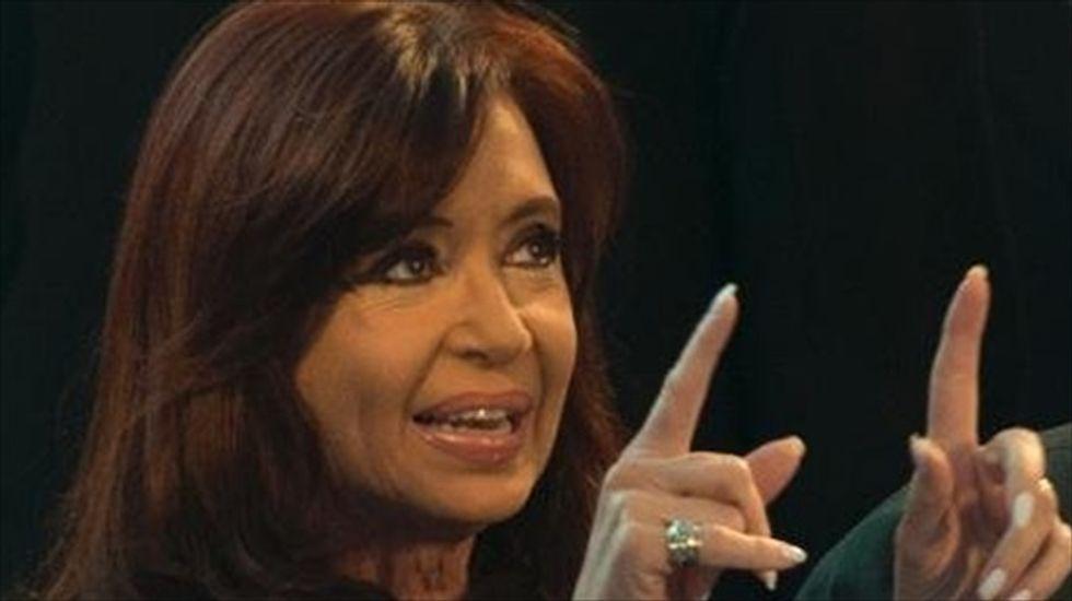 Judge dismisses cover-up case against Argentina's President Cristina Kirchner