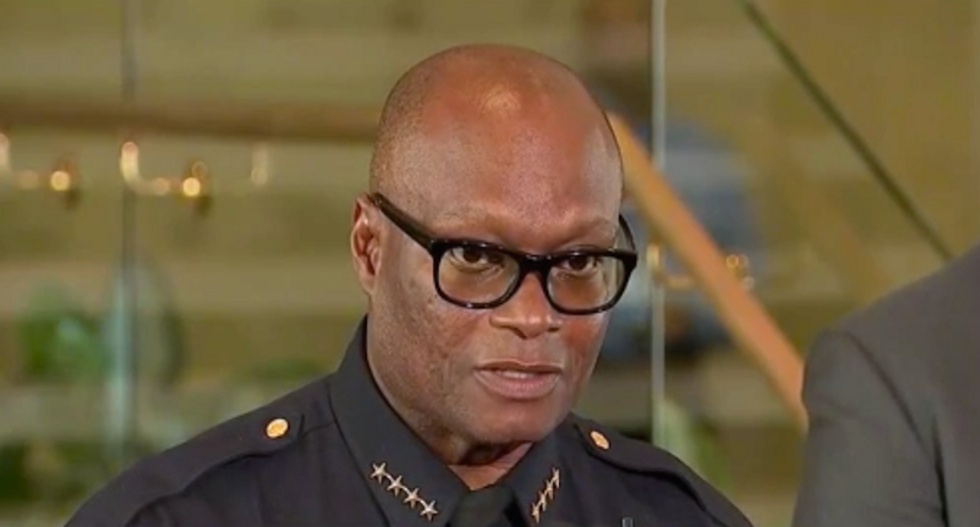 Dallas police chief claims racial motive in sniper attacks: 'He wanted to kill white people'