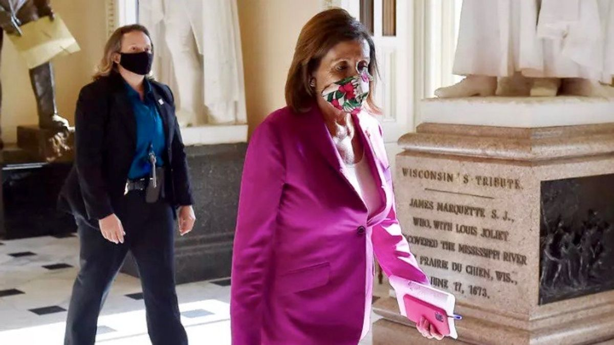 Nancy Pelosi's gambit pays off better than she could have hoped