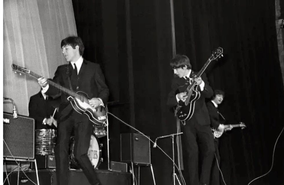 Tributes paid after death of Beatles photographer Astrid Kirchherr