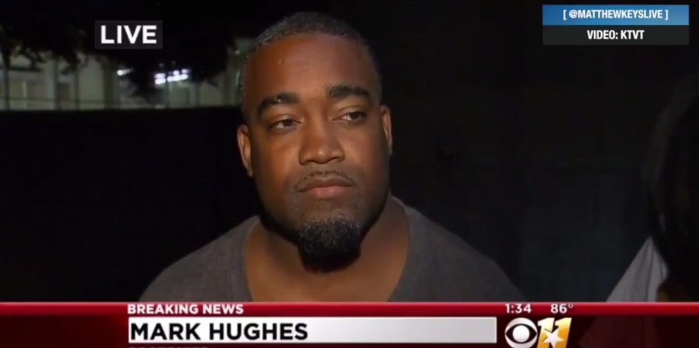 Man wrongly ID'd as Dallas shooting person of interest says cops lied to him during interrogation