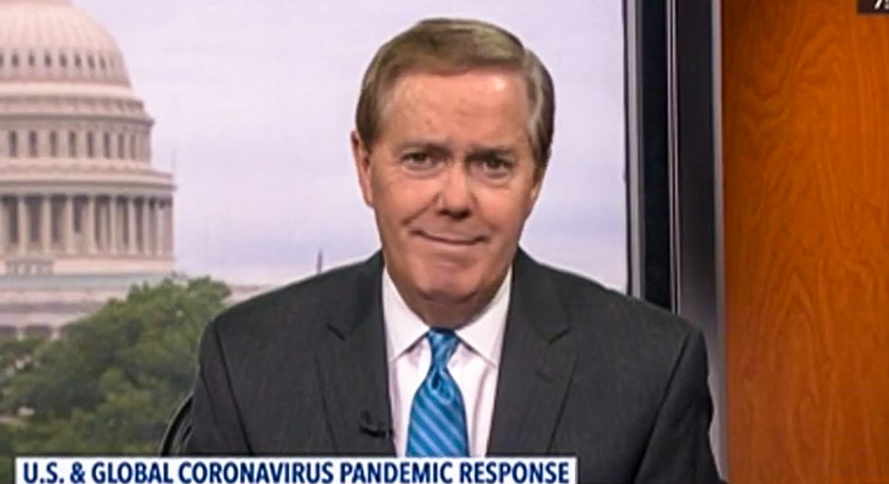 'That's not true': C-SPAN host tangles with caller who claims coronavirus 'absolutely is man-made'