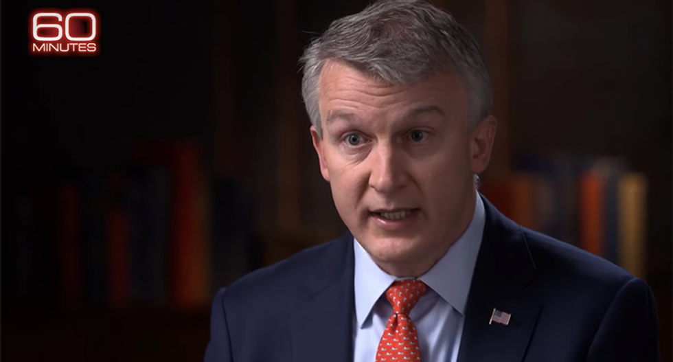 This is the '60 Minutes' interview with Dr. Bright that sent Trump flying into a rage