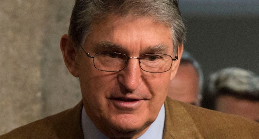 Joe Manchin had the perfect response when he found out Mitch McConnell said Republicans would 'crush him like a grape'