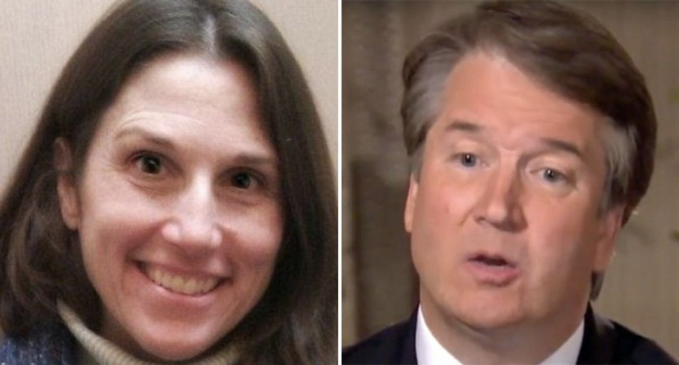 Text messages reveal Kavanaugh worked with friends trying to discredit Deborah Ramirez with photo