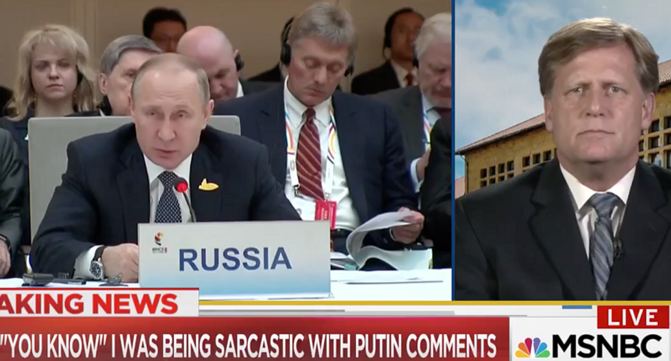 'It is personal': Former ambassador to Russia emotionally defends patriotic US diplomats from Trump's vitriol