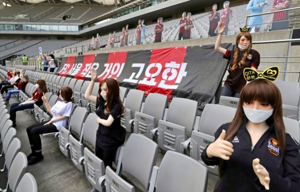 South Korean football club sorry for 'X-rated' sex doll controversy