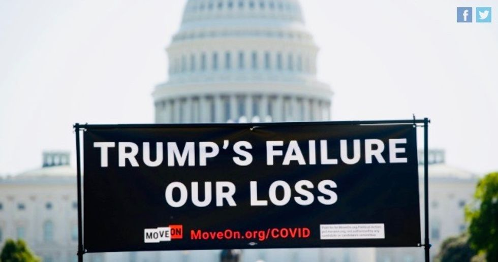 'National Day of Mourning' protests this week to condemn GOP failures amid mass suffering caused by COVID-19