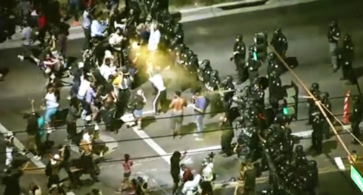 Police are 3 times more likely to use violence against leftist protesters than far-right: analysis