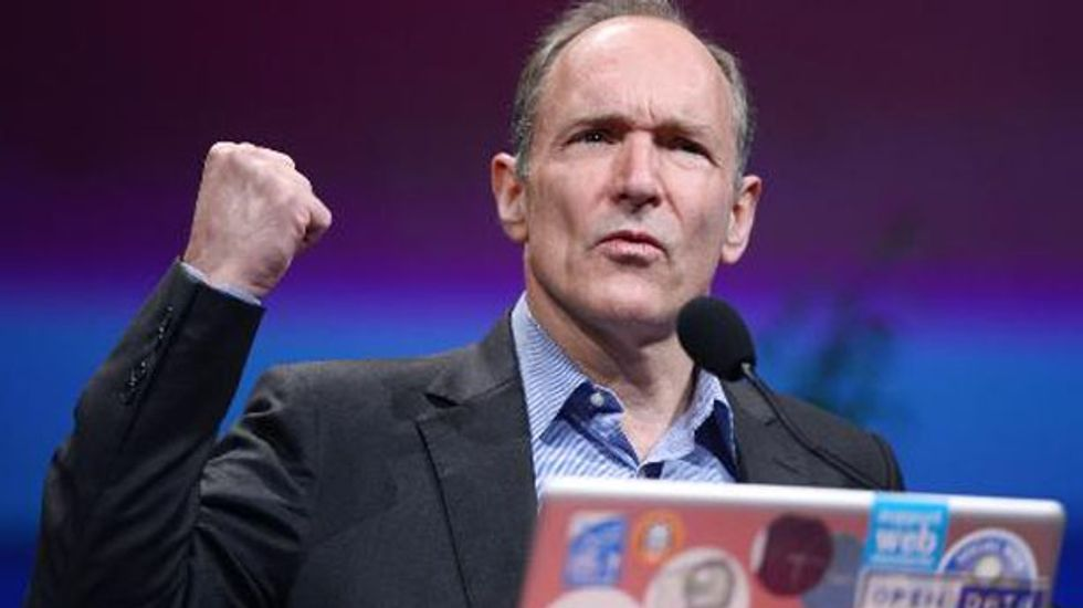 World Wide Web inventor:  'I want a web where I'm not spied on, where there's no censorship'