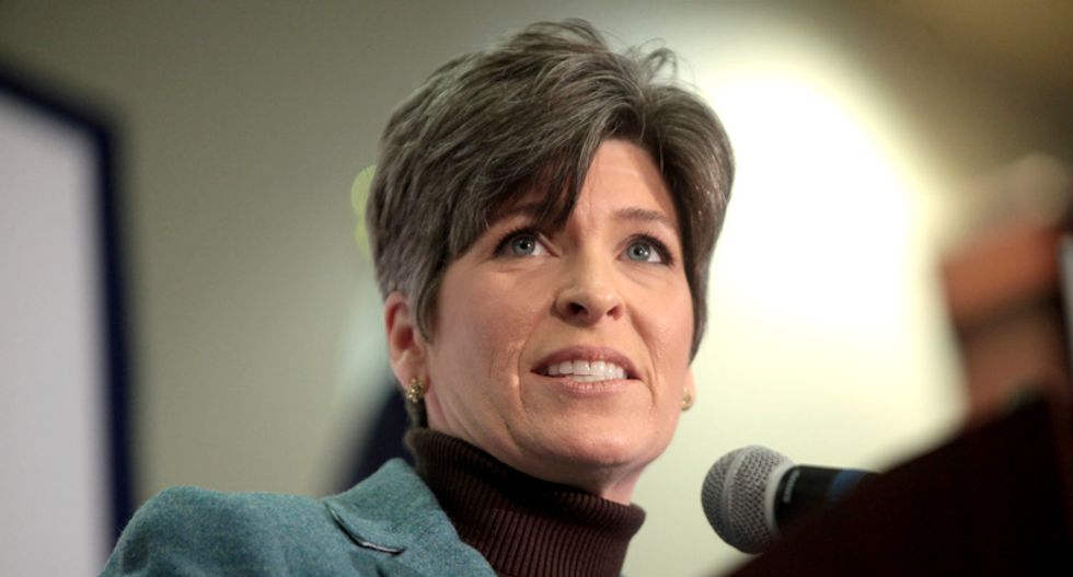 GOPer Joni Ernst has a plan to cut Social Security from behind closed doors