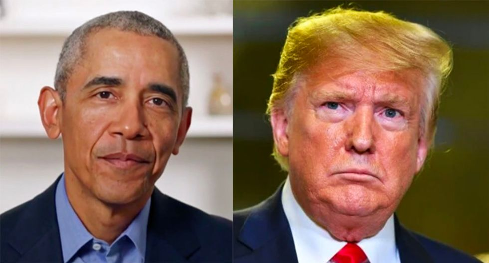 Trump falsely accuses Obama of 'treason' and says he was 'spying' on campaign – offers no evidence