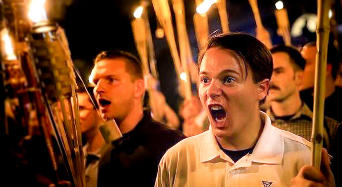 Infamous Charlottesville white nationalist booted from the National Guard