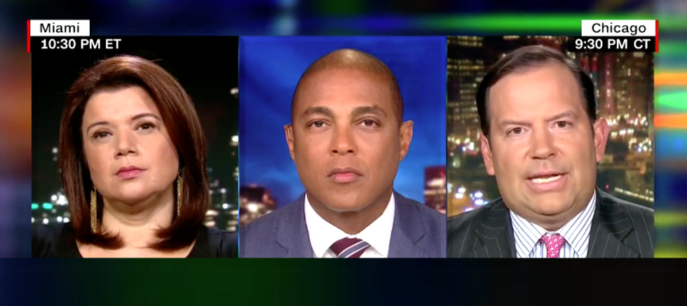 Trump-lover Steve Cortes tried to attack CNN's Ana Navarro for calling the president a racist -- it didn't go well