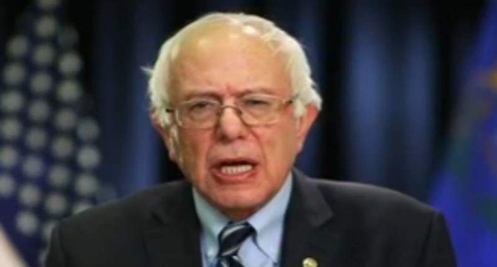 Bernie Sanders ridicules 'tough guy' Trump for ducking debate: 'What are you afraid of?'