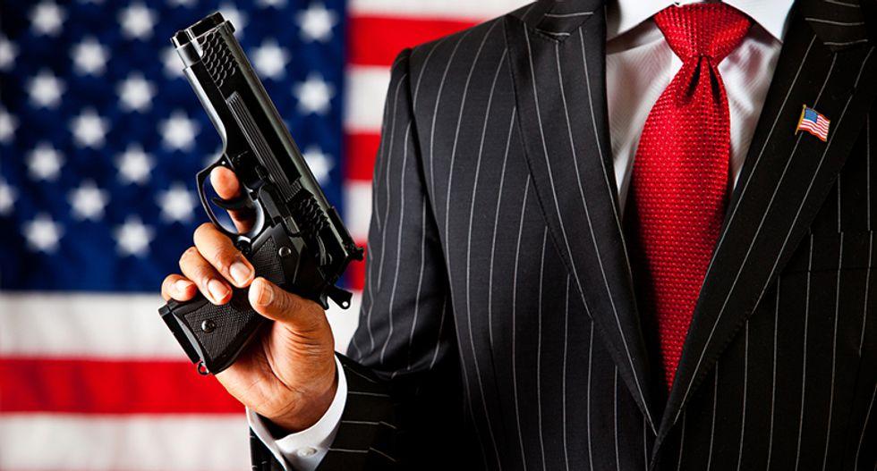 The GOP convention shows Republican rhetoric about guns is utter bullsh*t