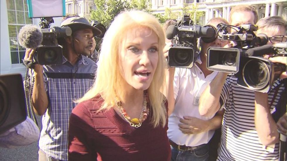 Woman cleared of charges after Kellyanne Conway accuses her of 'assault' at Mexican restaurant