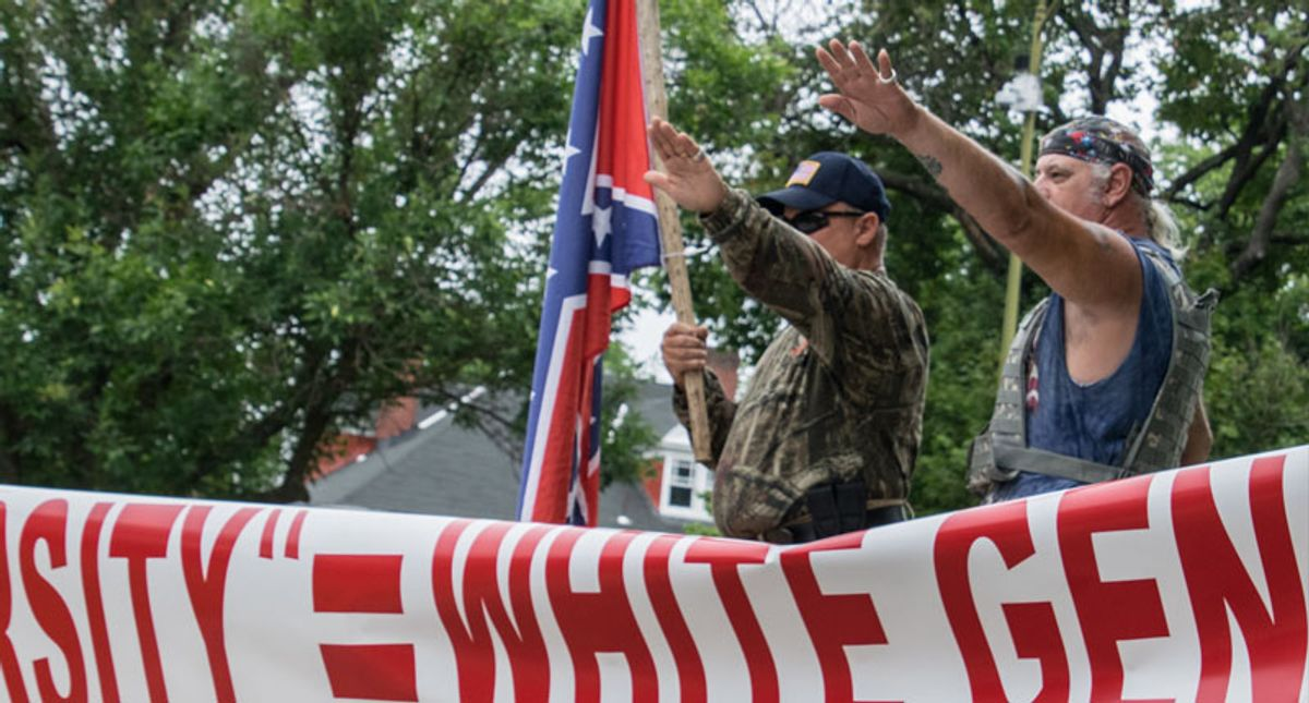 Internal FBI report warns white supremacists 'seek affiliation' with cops and military