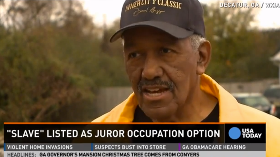 Residents shocked that DeKalb County, Georgia, juror form lists 'slave' as occupation