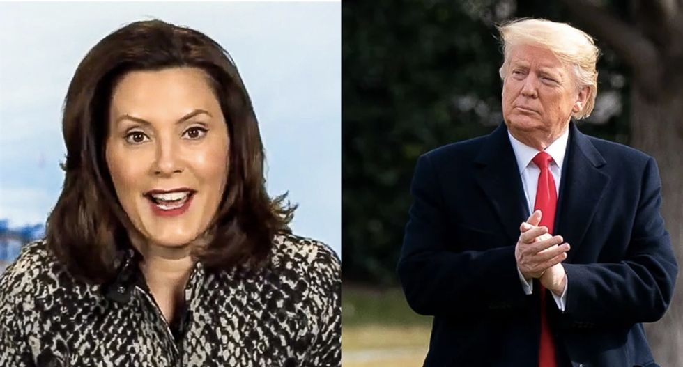Here are the times Trump egged on extremists who were targeting Michigan Gov. Gretchen Whitmer