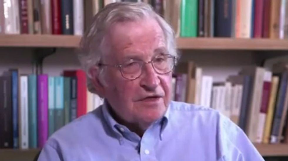 Noam Chomsky on class warfare: The rich think worker insecurity is a good thing