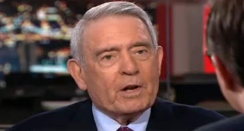 'A lie, is a lie, is a lie': Dan Rather shreds WSJ editor for reluctance to call out Trump's bullsh*t