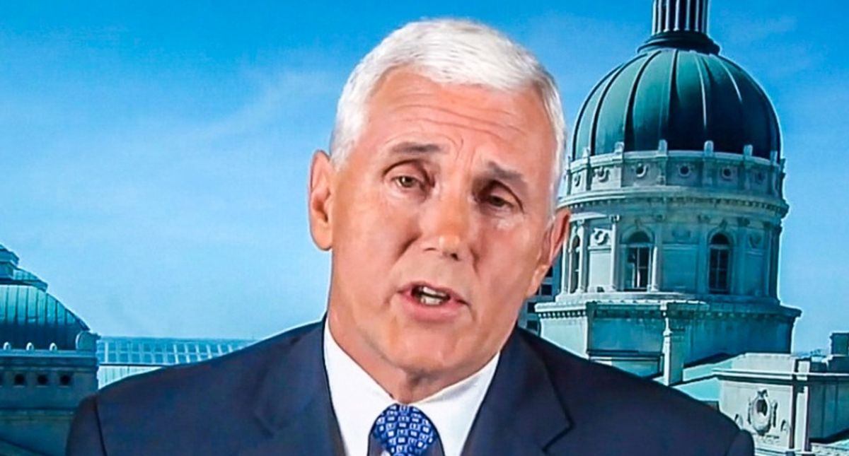 Mike Pence torn to shreds for justifying insurrectionists' conspiracies: 'These lies almost got you lynched'
