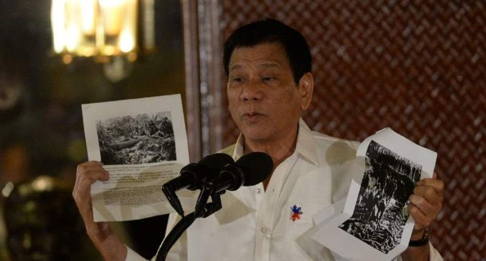 Philippine President Duterte orders US military advisers out of southern part of the country