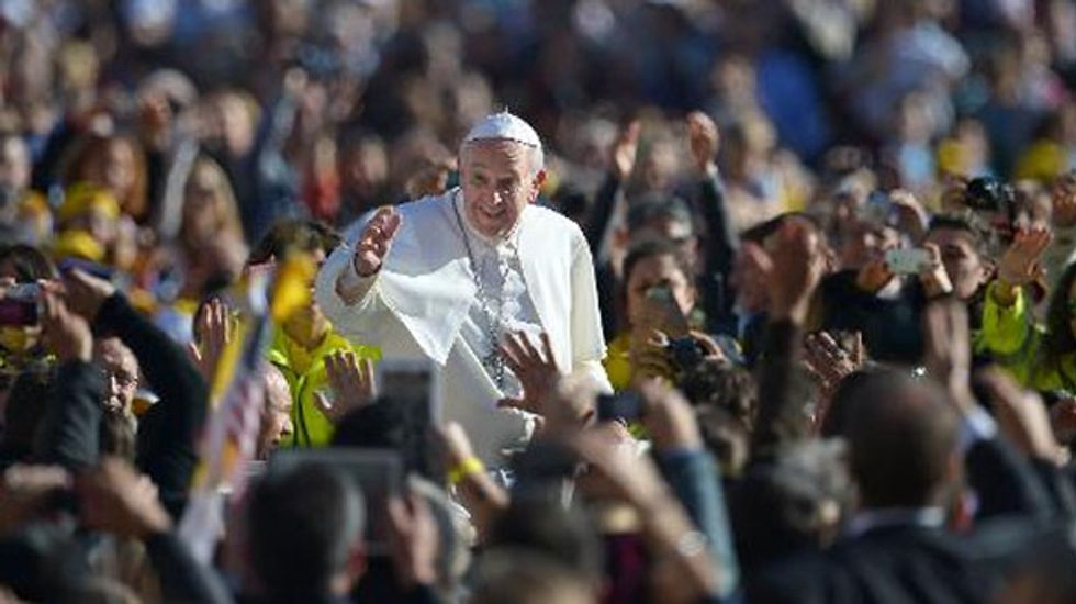 Pope Francis warns future cardinals to avoid partying