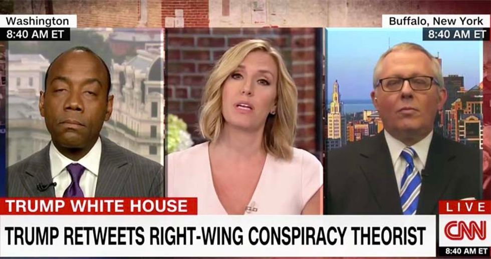 'This is about Heather Heyer': CNN's Harlow blasts ex-Trump aide attacking press over Charlottesville coverage