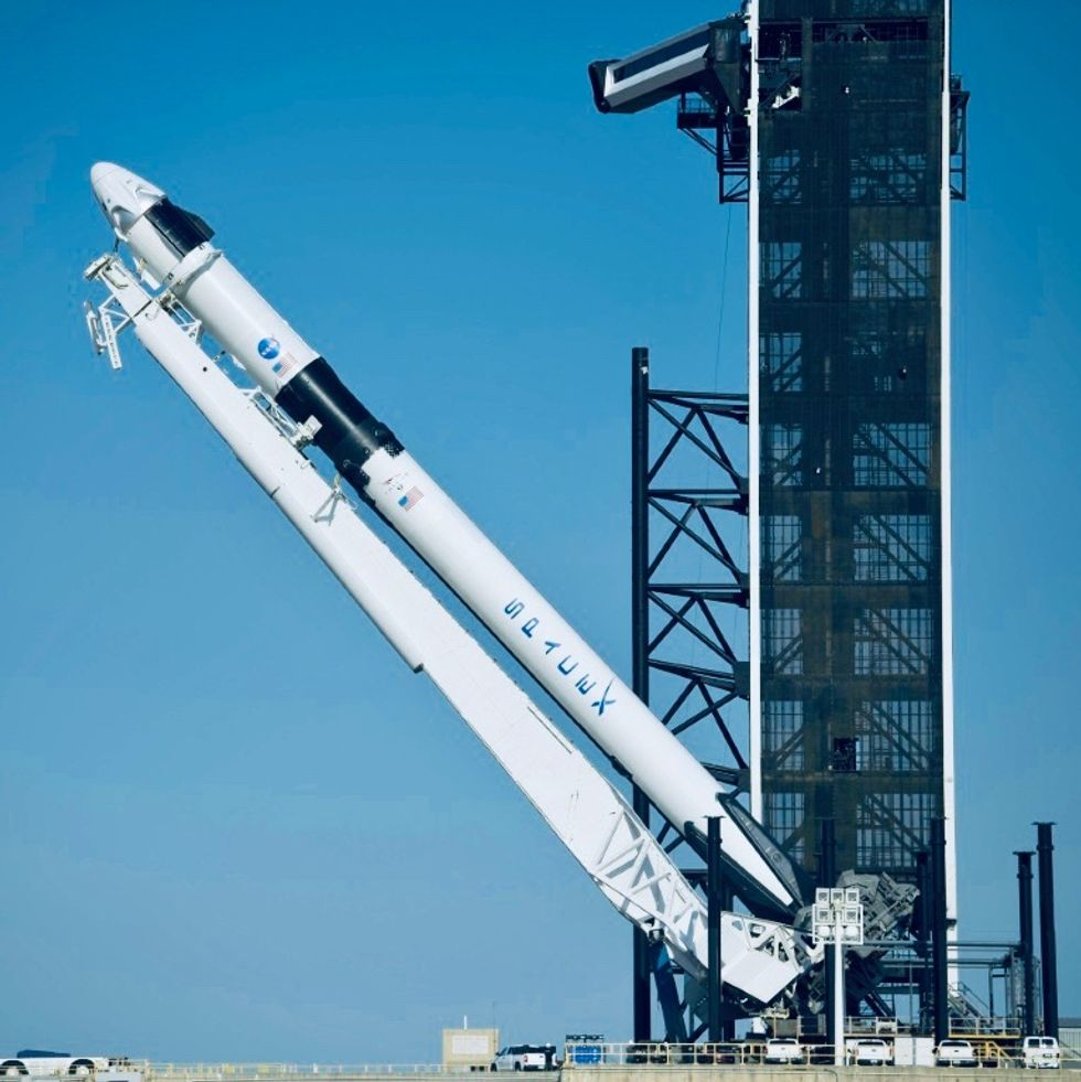 NASA gives go-ahead for first crewed SpaceX flight on May 27