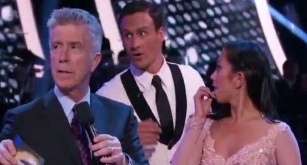 Swimmer Ryan Lochte attacked during live 'Dancing With The Stars' broadcast