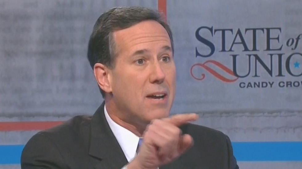 Rick Santorum's Hobby Lobby movie warns Christians that U.S. is becoming Nazi Germany