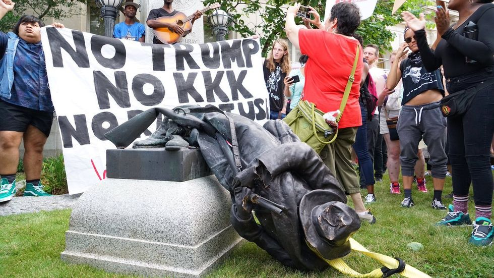 Georgia judge suspended after comparing anti-Confederate statue protesters to ISIS