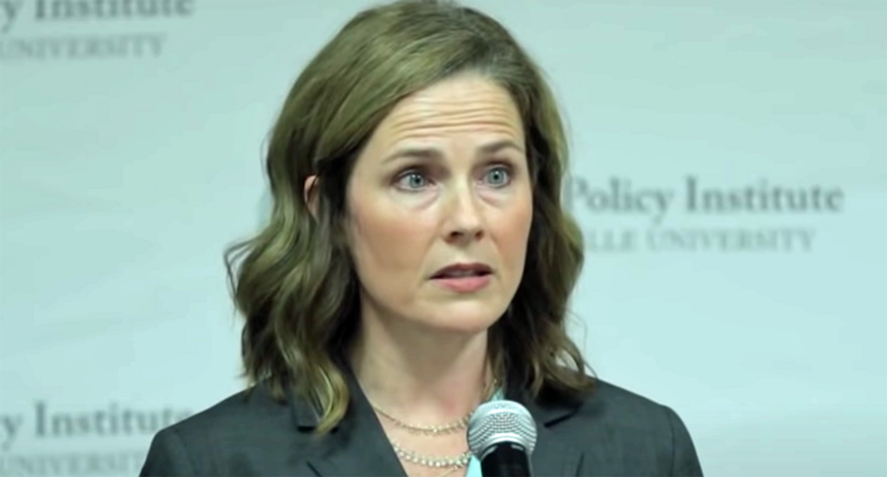 Republicans are nervous of letting voters know Amy Coney Barrett's views: Washington Post