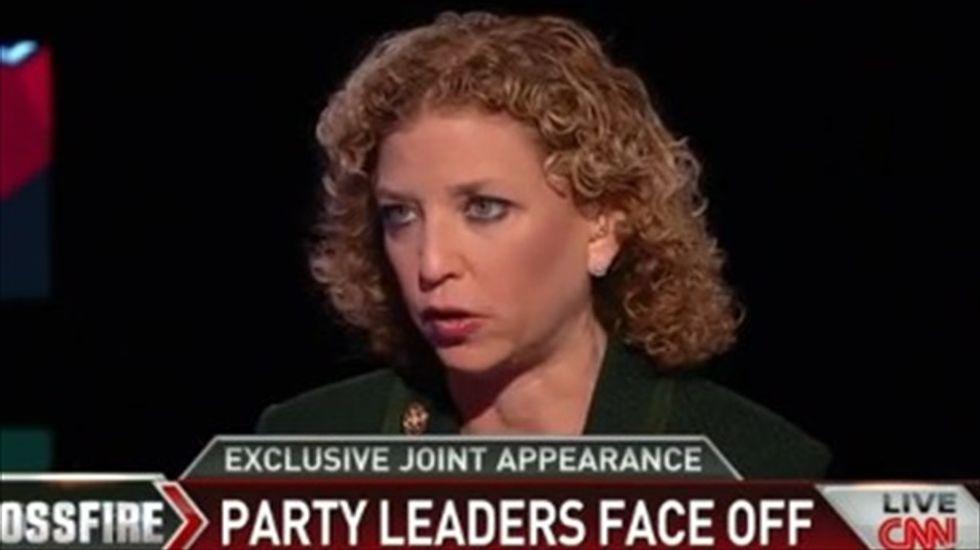 Debbie Wasserman Schultz schools Newt Gingrich over 'war on women' crack about Joe Biden