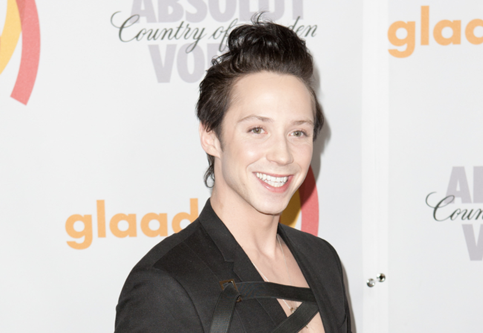 Olympic skater Johnny Weir calls LGBT activists 'idiots' for opposition to Russian games