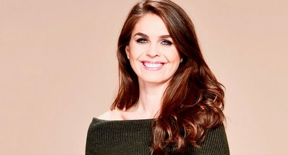 Trump to name longtime loyalist Hope Hicks as new communications director