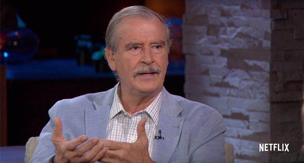 Vicente Fox: Trump addressing GOP was like watching Hitler address the Nazi Party