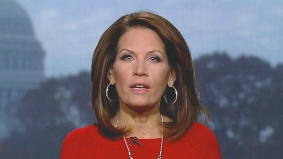 Michele Bachmann: President Obama 'has rewritten the Constitution for himself'