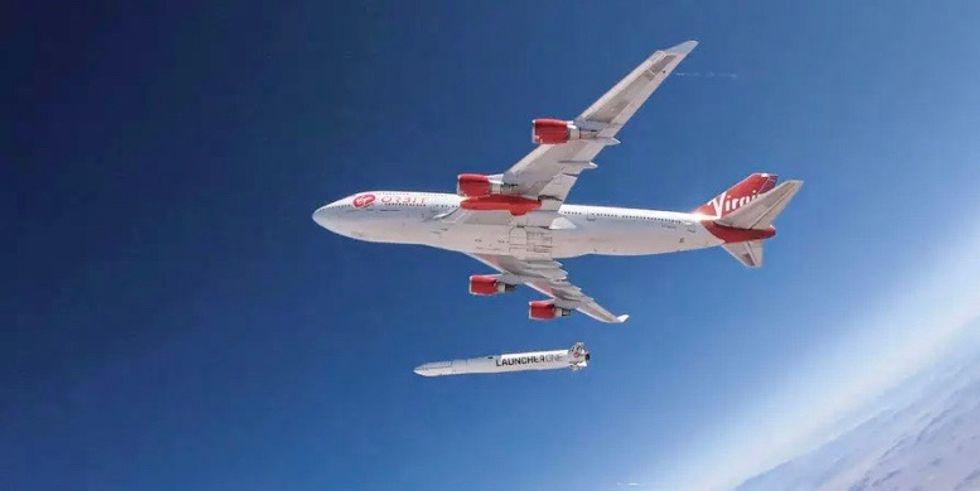 First test of Virgin Orbit rocket fails to accomplish goal